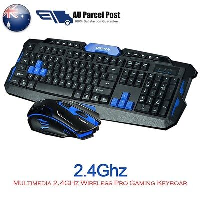 2.4G Gaming Wireless Keyboard Kits and Mouse Set For Computer Gamer Multimedia