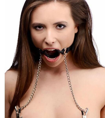 Open-Mouth-Gag-O-Ring-Full-Silicone-Head-Harness-Mouth-Gagged-with-Clip-chain