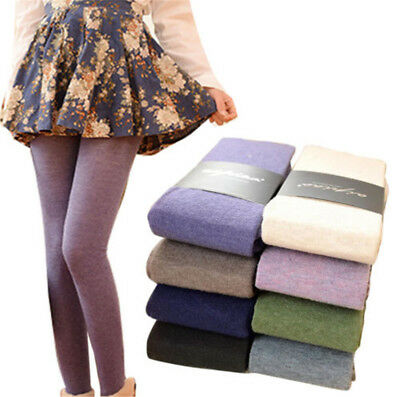 Fashion Women's Pantyhose Wool Cashmere Warm Thermal  Stockings Tights Seamless