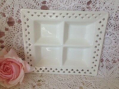 Shabby/french ~ Maxwell & Williams ~ Porcelain ~ Lace ~ Divided Serving Tray