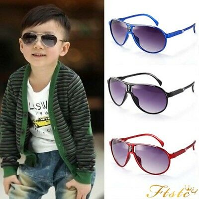 Stylish Child Kids Boys Girls Aviator UV400 Sunglasses Shades Baby Goggles High