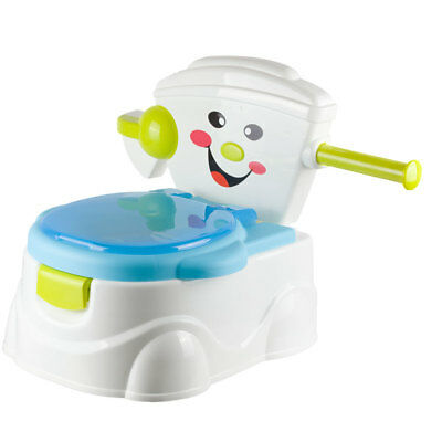 2 in 1 Baby Toddler Toilet Trainer Safety Child Kid Chair Potty Training Seat