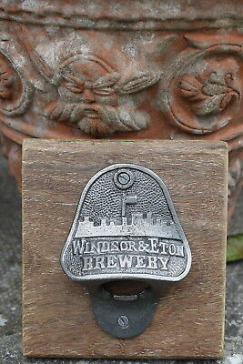 Vintage Style Cast Iron Bottle Opener garden BBQ party summer beer real ale food
