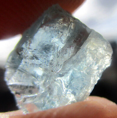 4.25crt Electric Blue Apatite Rough From Tanzania