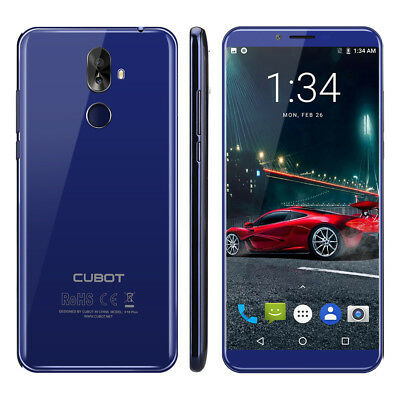5.99'' Cubot X18 Plus Android8.0 20MP 4+64GB 4G Handy ohne Vertrag 8core 4000mAh