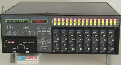Racal Heim DATaRec-A160 High Speed Tape Digital Recording System Data