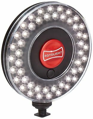 Rotolight Creative Colour Kit with HD LED Stealth Ringlight, Stand & Colo... New