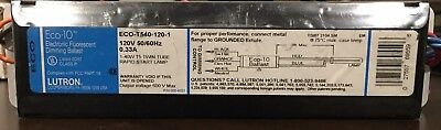 Lutron Eco-10 ECO-T540-120-1 Electronic Fluorescent Dimming Ballast 120V 50/60Hz