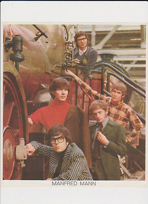 Manfred Mann - Original 1966 Press Photo (No Copy) From Holland Large Sized!