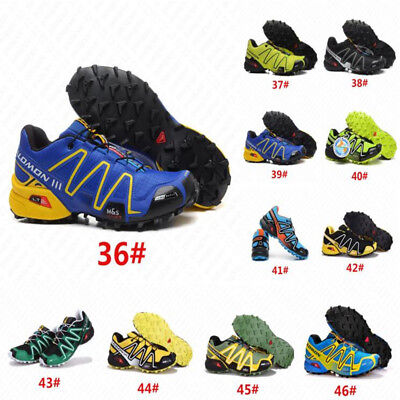 Hot Athletic Men's Salomon Speedcross Running Hiking 3 Sports Shoes Sneakers