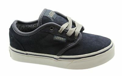 7095e9aee7c Vans Off The Wall Atwood Suede MTE Kids Junior Lace Up Canvas Trainers  ZNRGJW VD