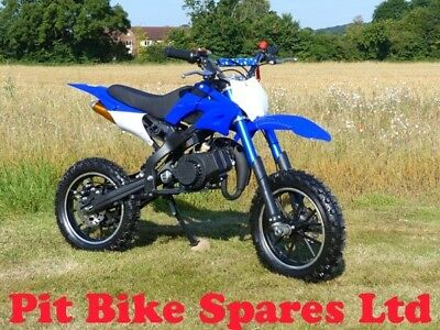 MD-02 Mini Dirt Bike 49cc Pocket Bike. Minimoto. Blue