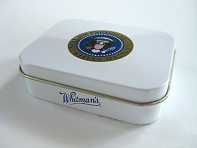 George W Bush Candy Tin Presidential Seal Whitman Sampler White House Visitor