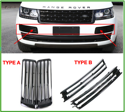 Pair Of Land Rover Range Rover 2013-3017 Front Bumper Side Air Vents Set