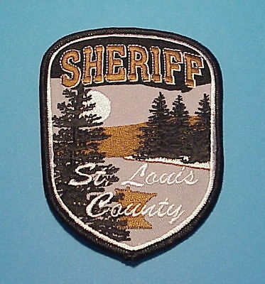 St. Louis County  Minnesota Mn  Sheriff /  Police Dept. Patch  Free Shipping!!!