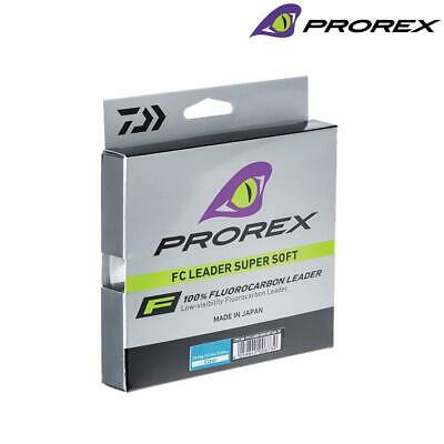 Daiwa Prorex New Super Soft Fluorocarbon Fishing Line Leader