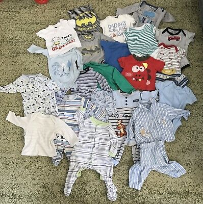 baby boy bundle 0-3 Including Next, John Lewis, Mother Care And More