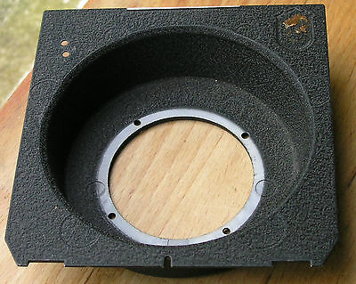 genuine Linhof 45 Technika recessed 20mm  Lens board 47.3mm hole