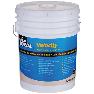Ideal 31-278 Velocity Wire Pulling Lubricant, 5 Gallon Bucket