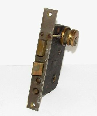 RUSSWIN MORTISE PUSH Button Door Lock 7 3/4
