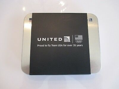 New United Airlines First Class Team USA Olympic Travel Kit Amenity