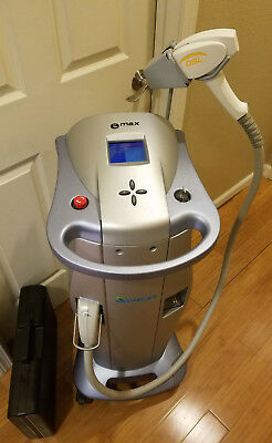 SYNERON eMAX EMAX LASER WITH DSL, ST, LV (3) HANDPIECES eLASER HAIR REMOVAL