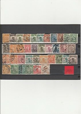 Briefmarkenlot  China O  siehe Scan  / Lot  2984