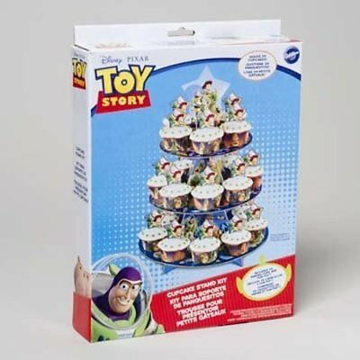 WILTON Toy Story 3-Tier Cupcake Stand Kit - NEW - FREE SHIPPING!