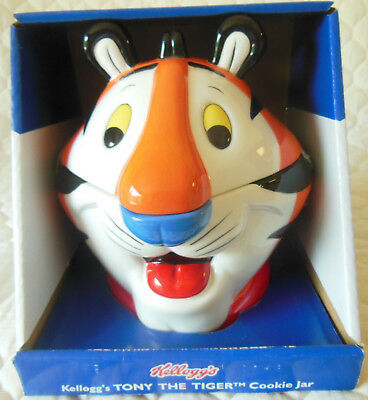 Tony the Tiger Cookie Jar 2002 by Kellogg's BRAND NEW IN BOX