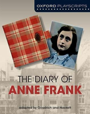 Dramascripts: The Diary of Anne Frank (Nelson Thornes Dramascripts) by Goodrich