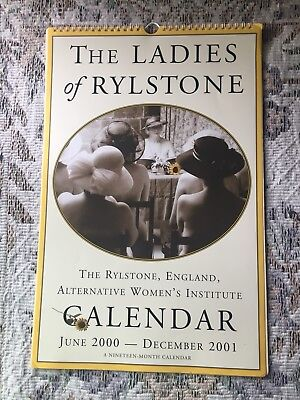 The Ladies of Rylstone Calendar 2000-2001 Autographed