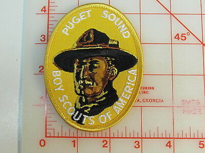 Baden Powell PUGET SOUND collectible patch (gA)