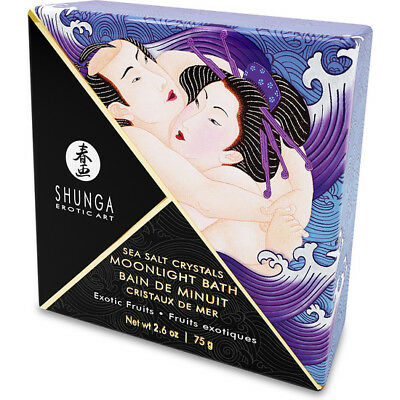 Sales De Baño Shunga Crystals Bath Exotic Fruit 75 Gr