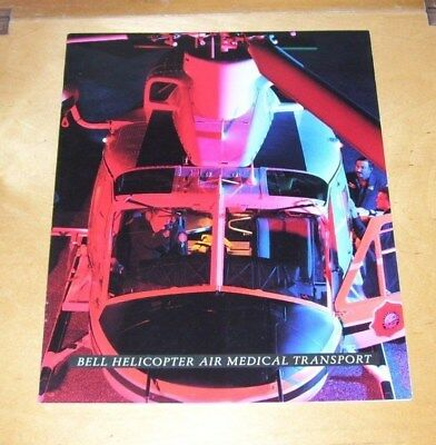 Bell Helicopter Air Medical Transport Brochure 1996 430 230 412-Ep 407 206L-4