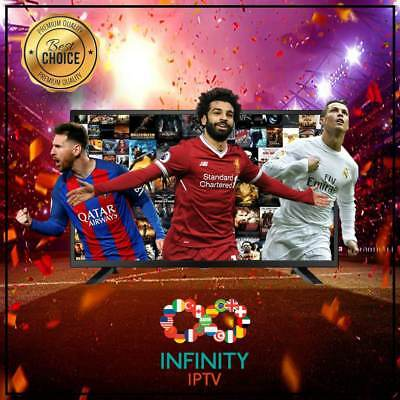 INFINITY IPTV SUBSCRIPTION+23000 CHANNELS &VOD Best Choice