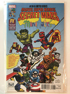 SDCC 2015 PX Exclusive Marvel Super Heroes Secret Wars #4 Minimates Variant