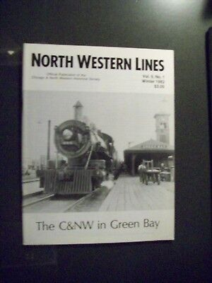 C&nw Rr Hs - North Western Lines - Winter 1982 V9 #1