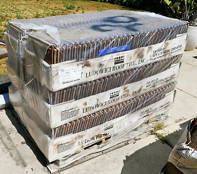LUDOWICI ROOFING TILE: 750-800 SQUARE FEET OF LUDOSHAKE PREMIER (7 1/2 to 8 SQ)