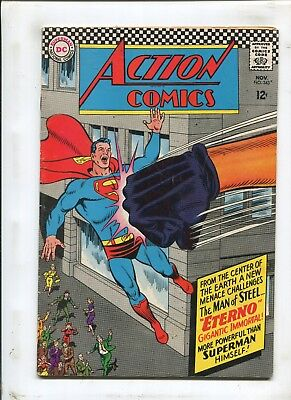 Action Comics #343 - Eterno Gigantic Immortal! - (7.0) 1966