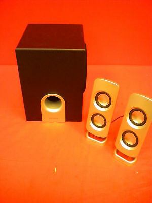 Insignia NS-PSD5321 2.1 Channel Speaker Set With Subwoofer 5827