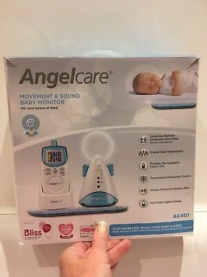 Angelcare Baby Monitor Movement And Sound AC401