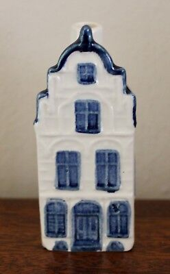 Blue Delft KLM Ashtray House No.21 Made in Holland