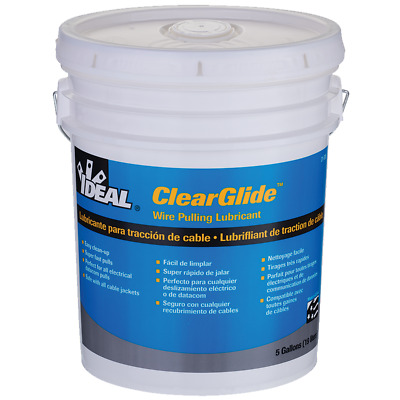 Ideal 31-385 Clearglide Wire Pulling Lubricant (5-Gallon Bucket)