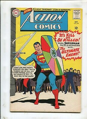 Action Comics #329 - Drang The Destroyer! - (4.0) 1965