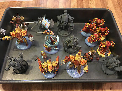 Protectorate of Menoth Army: Warjacks, casters, book, units, tokens, dice, etc.