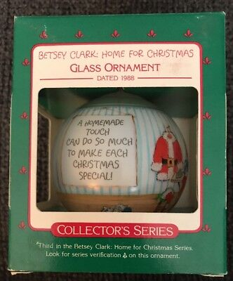 Hallmark 1988 Betsey Clark: Home for Christmas 3rd in Series