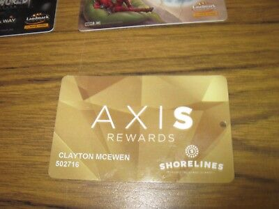 Casino slot Card RARE 1000 islands axis gold card