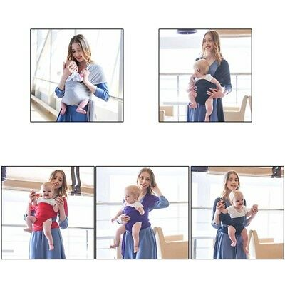 2a3930a5f11 Adjustable sling Newborn Infant Baby Toddler Cotton stretchy Wrap Carrier  New