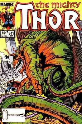 Thor (1966 series) #341 in Near Mint condition. Marvel comics