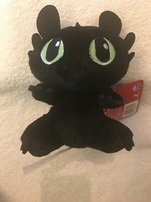 DreamWorks Dragons  8 Inch Premium Plush - Toothless NEW